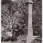 pomnik w parku zarzyckiego